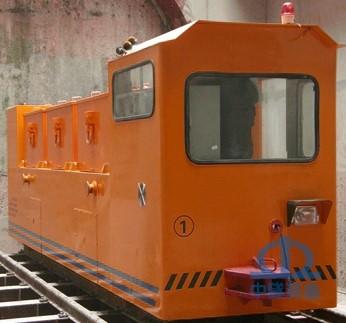 45T电瓶牵引机车  深圳轨道交通号线2131标段