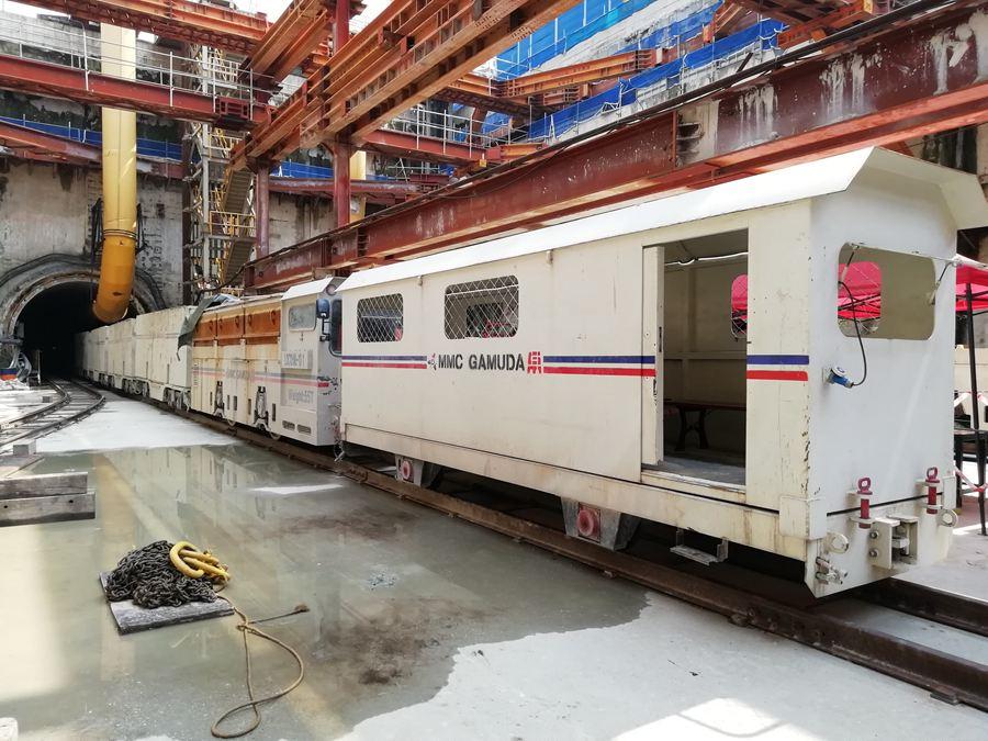 55T电瓶牵引机车 新加坡MEPT麦鐠特工程有限公司  吉隆坡项目